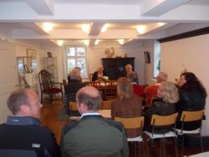 Treffen mit der Künstlerin Im Fachwerkhaus (1)